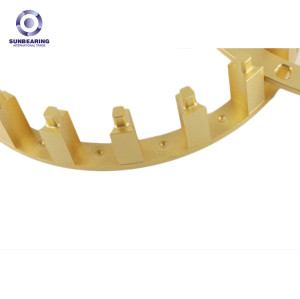SUNBEARING Bearing Cage Gold Stainless Steel