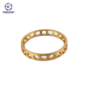 SUNBEARING Bearing Cage Gold Brass Alloy