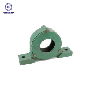 SUNBEARING Pillow Block Bearing P213 Green 65*120*75mm Cast Steel