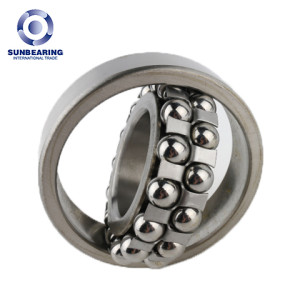Rodamientos de bolas autoalineables SUN BEING 1213K plata 65 * 120 * 23 mm de acero inoxidable