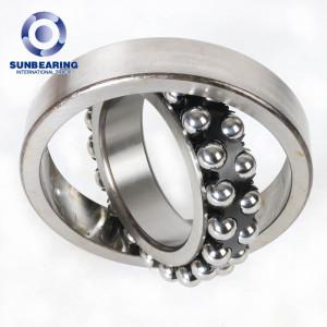 SUN BEARING Self-aligning Ball Bearing 1316 Silver 80*170*39mm Stainless Steel