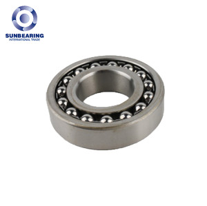 SUN BEARING Self-aligning Ball Bearing 2312 Silver 60*130*46mm Stainless Steel