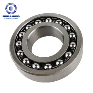 SUN BEARING Self-aligning Ball Bearing 1200 Silver 10*30*9mm Stainless Steel