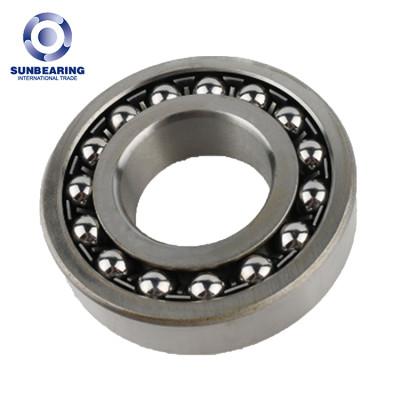 RODAMIENTO DEL SOL Rodamiento de bolitas autoalineable 1200 de plata 10 * 30 * 9 mm de acero inoxidable