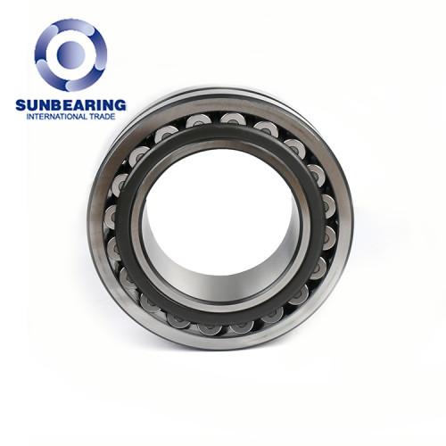 Rodamiento de rodillos esféricos 22318 CC / W33 de plata 90 * 160 * 40 mm de acero inoxidable