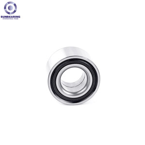 SUNBEARING Deep Groove Ball Bearing 62204 Silver 20*47*18mm Stainless Steel GCR15