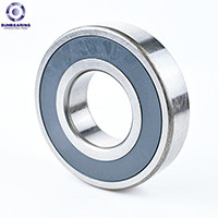 SUN BEARING Deep Groove Ball Bearing 61800 Silver 10*19*5mm Stainless Steel