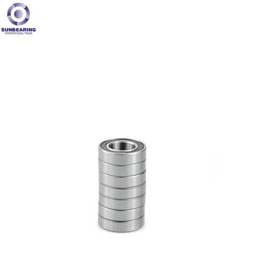 RODAMIENTO DEL SOL Rodamiento rígido de bolas 606 Plata 6 * 17 * 6 mm Acero cromado GCr15