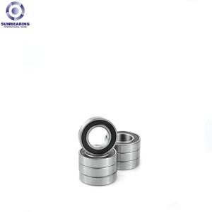 SUN BEARING Deep Groove Ball Bearing 606 Silver 6*17*6mm Chrome Steel GCr15