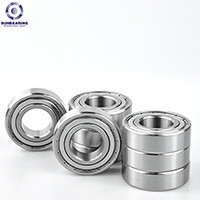 SUN BEARING Deep Groove Ball Bearing 6300 Sliver 10*35*11mm Chrome Steel GCr15