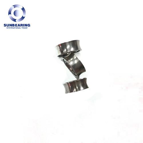 SUNBEARING اضعا الكرة الاخدود العميق SR188 فضة 6.35 * 12.7 * 4.762mm الفولاذ المقاوم للصدأ