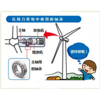 The Use of Bearings in Wind Turbines