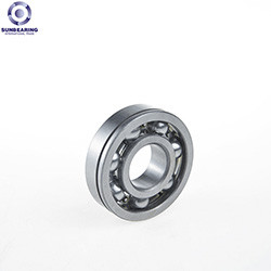 SUNBEARING Deep Groove Ball Bearing 608 Silver 8*22*7mm Chrome Steel GCR15