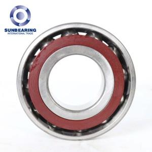 SUNBEARING Радиально-упорный шарикоподшипник 7210AC Красный 50 * 90 * 20 мм Хромированная сталь GCR15