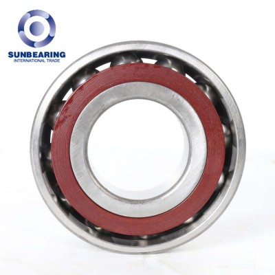 Rodamiento de bolas de contacto angular SUNBEARING 7210AC rojo 50 * 90 * 20 mm acero cromado GCR15