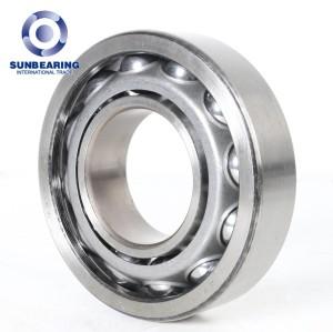 Rodamiento de bolas de contacto angular SUNBEARING 7211AC plata 55 * 100 * 21 mm acero cromado GCR15
