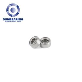 SUNBEARING Deep Groove Ball Bearing 6002 Silver 15*32*9mm Chrome Steel GCR15