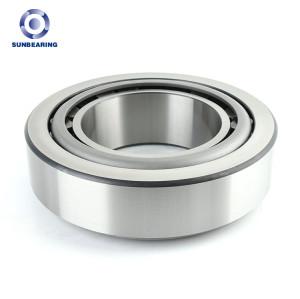 SUNBEARING Cojinete de rodillos cónicos 30203 plata 17 * 40 * 13.25 mm acero cromado GCR15