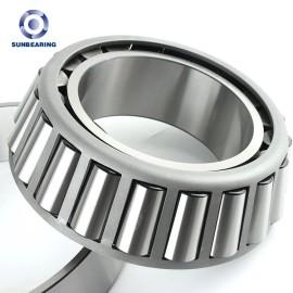 SUNBEARING أسطواني مدبب 30216 فضة 80 * 140 * 28.25mm كروم فولاذ GCR15