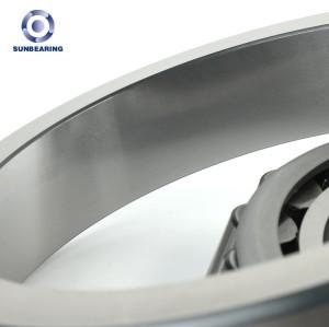 SUNBEARING Rodamiento de rodillos cónicos 30216 Plata 80 * 140 * 28.25 mm Acero cromado GCR15