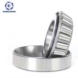 SUNBEARING Конический роликоподшипник 32006X Серебро 30 * 55 * 17 мм Хромированная сталь GCR15