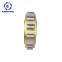 SUNBEARING NF307 Yellow 35*80*21mm Chrome Steel GCR15 Cylindrical Roller Bearing