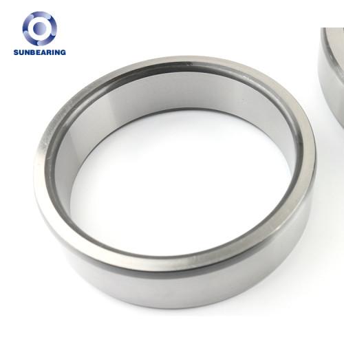 SUNBEARING أسطواني أسطواني NU207EM فضة 35 * 72 * 17mm كروم فولاذ GCR15
