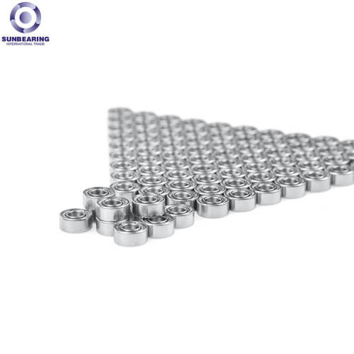 SUNBEARING الكرات الأخدود العميق 698 فضية 8 * 19 * 6MM الفولاذ المقاوم للصدأ GCR15