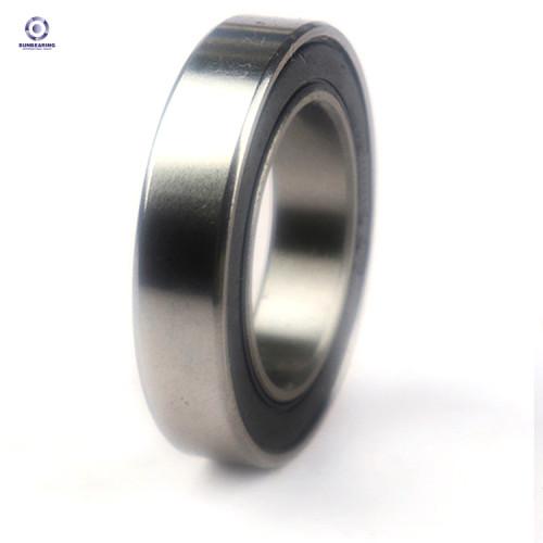 SUNBEARING Rodamiento rígido de bolas 16006 Plata 30 * 55 * 9 mm Acero al cromo GCR15