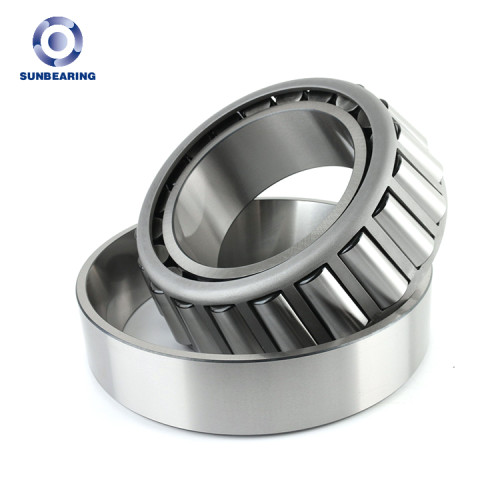 SUNBEARING Rodamiento de rodillos cónicos 32011X Plata 55 * 90 * 23 mm Acero al cromo GCR15