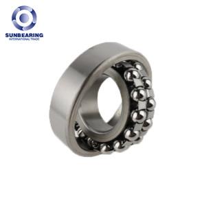 SUNBEARING Самоустанавливающийся подшипник 1305 Серебро 25 * 62 * 17 мм Хромированная сталь GCR15