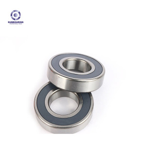 SUNBEARING 6304E Silver 20*52*15mm Stainless Steel GCR15 Deep Groove Ball Bearing