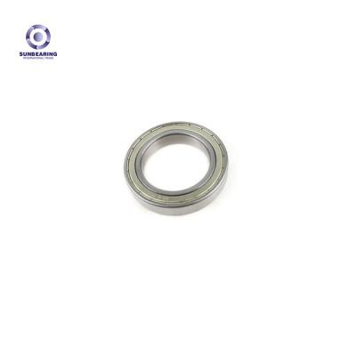 SUNBEARING Rodamiento rígido de bolas 6007 Plata 35 * 62 * 14 mm Acero al cromo GCR15