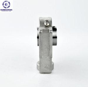 SUNBEARING Cojinete de bloque de almohada SUCT205 Plata 25 * 97 * 89 mm Acero inoxidable GCR15