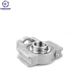 SUNBEARING Опорный подшипник скольжения SUCT205 Серебро 25 * 97 * 89 мм из нержавеющей стали GCR15