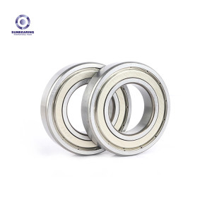 SUNBEARING 16002 Silver 15*32*8mm Chrome Steel GCR15 Deep Groove Ball Bearing