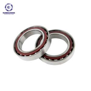 SUNBEARING Angular Contact Ball Bearing 7207CT Silver 35*72*17mm Chrome Steel GCR15