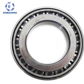 SUNBEARING Rodamiento de rodillos cónicos 32015X Plata 75 * 115 * 25 mm Acero al cromo GCR15