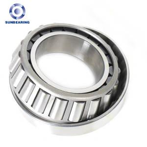 SUNBEARING Rodamiento de rodillos cónicos 32016 Plata 80 * 125 * 29 mm Acero al cromo GCR15