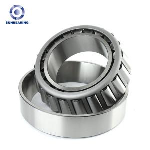 SUNBEARING Rodamiento de rodillos cónicos 32018 Plata 90 * 140 * 32.4 mm Acero al cromo GCR15