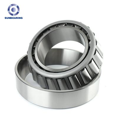 SUNBEARING أسطواني مدبب 32018 فضي 90 * 140 * 32.4mm كروم فولاذ GCR15