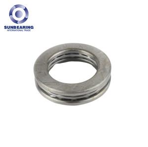 SUNBEARING 51108 Thrust Ball Bearing Silver 40*60*13mm Chrome Steel GCR15