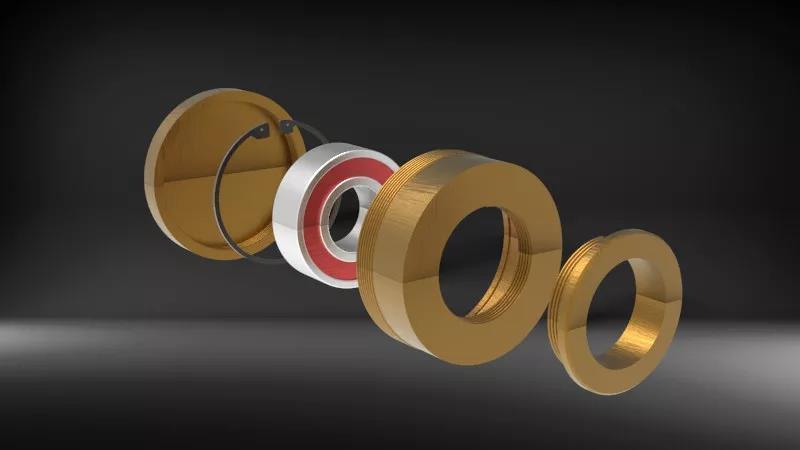 Lubricación de anillo de aceite