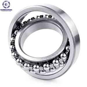 SUNBEARING Самоустанавливающийся подшипник 2313 Серебро 65 * 140 * 48 мм Хромированная сталь GCR15