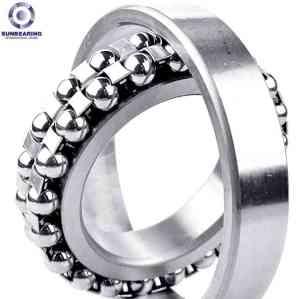 SUNBEARING Самоустанавливающийся подшипник 2322 Серебро 110 * 240 * 80 мм Хромированная сталь GCR15