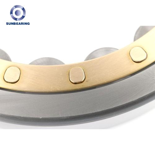 SUNBEARING Rodamiento de rodillos cilíndricos NF214 Plata 70 * 125 * 24 mm Acero al cromo GCR15