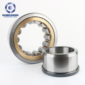 SUNBEARING Цилиндрический роликовый подшипник NJ2313ECP Серебро 65 * 140 * 48 мм Хромированная сталь GCR15