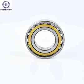 SUNBEARING أسطواني أسطواني NU204 فضية 20 * 47 * 14mm كروم فولاذ GCR15