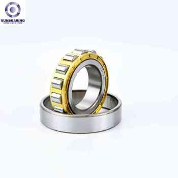 SUNBEARING Cylindrical Roller Bearing NU204 Silver 20*47*14mm Chrome Steel GCR15