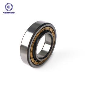 SUNBEARING Цилиндрический роликоподшипник NU206EM Серебро 30 * 62 * 16 мм Хромированная сталь GCR15